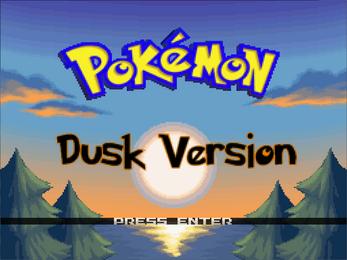 Pokemon Dusk RMXP Hacks