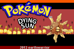 Pokemon Dying Sun GBA ROM Hacks