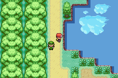 Pokemon Kanto Roads GBA ROM Hacks