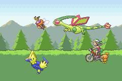 Pokemon LightRed GBA ROM Hacks