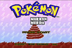 Pokemon Marron Merda GBA ROM Hacks