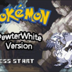 Pokemon Pewter White / Obsidian Black