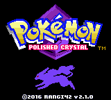 Pokemon Polished Crystal GBC ROM Hacks