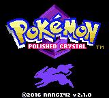 Pokemon Polished Crystal Screenshot