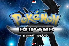 Pokemon Raptor EX RMXP Hacks