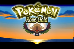 Pokemon Rose Gold RMXP Hacks