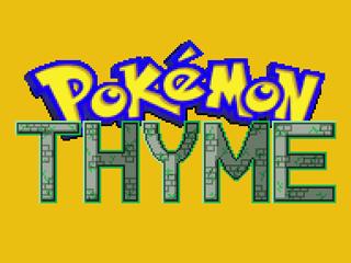 Pokemon Thyme RMXP Hacks
