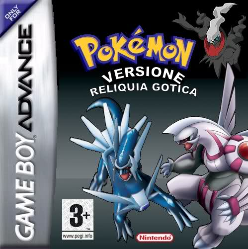 Pokemon Versione Reliquia Gotica GBA ROM Hacks