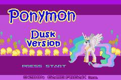 Ponymon Dusk/Dawn Screenshot