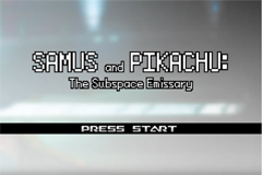 Samus & Pikachu: The Subspace Emissary RMXP Hacks