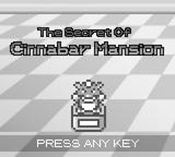 The Secret of Cinnabar Mansion RMXP Hacks