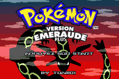 Pokemon Emerald Plus Plus GBA ROM Hacks
