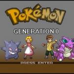 Pokemon Gen 0 Agatha's Story