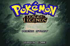Pokemon League of Legends GBA ROM Hacks