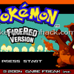 Pokemon Fire Red Randomizer Version