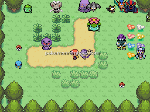 Pokemon Allworld RMXP Hacks
