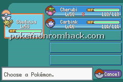 Pokemon FireRed VR Missions GBA ROM Hacks