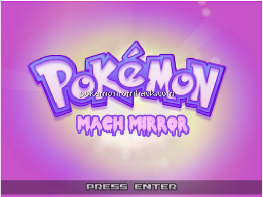 Pokemon Mach Mirror RMXP Hacks