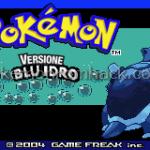 Pokemon Blu Idro
