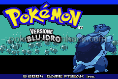 Pokemon Blu Idro GBA ROM Hacks