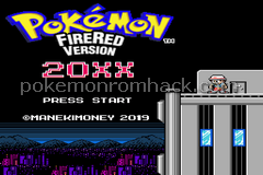 Pokemon Fire Red 20XX GBA ROM Hacks