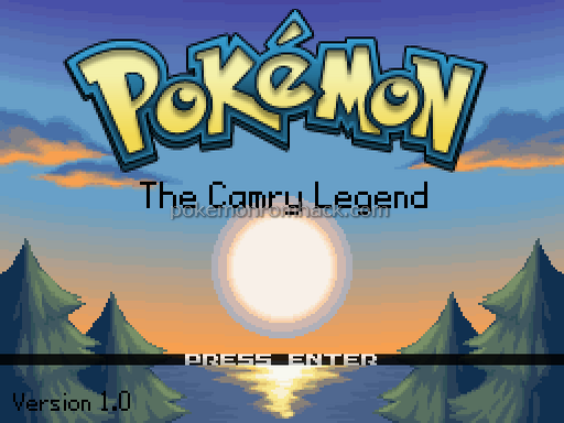 Pokemon: The Camry Legend RMXP Hacks