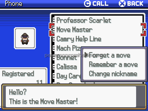 Pokemon: The Camry Legend RMXP Hacks