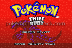 Pokemon Thief Ruby GBA ROM Hacks