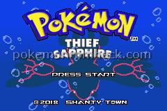 Pokemon Thief Sapphire GBA ROM Hacks