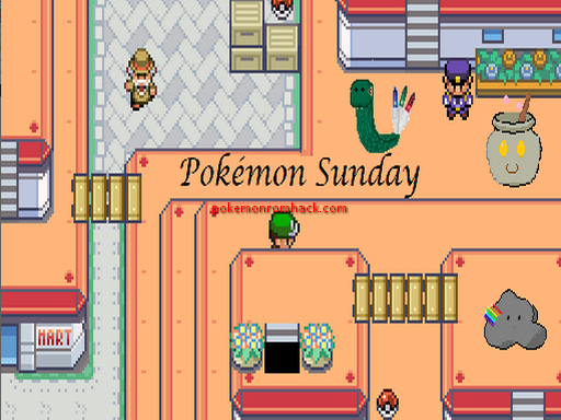 Pokemon Sunday RMXP Hacks