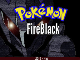 Pokemon Fire Black GBA ROM Hacks