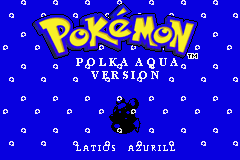 Pokemon Polka Aqua GBA ROM Hacks