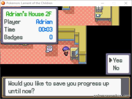 Pokemon: Lament of the Children RMXP Hacks