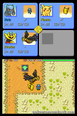 Pokemon Mystery Dungeon Explorers of Light NDS ROM Hacks