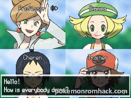 Pokemon Volt White NDS ROM Hacks