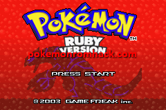 Pokemon Aqua Splash GBA ROM Hacks