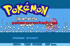 Pokemon Aquamarine Version GBA ROM Hacks
