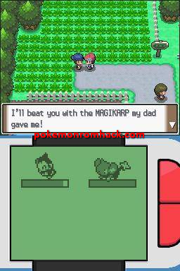 Pokemon Bloody Diamond NDS ROM Hacks