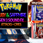 Pokemon Attack SFX Pack Gens 1 to 5 Updated