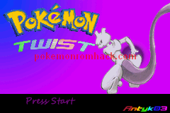 Pokemon Twist GBA ROM Hacks