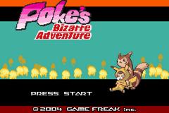 Poke's Bizzare Adventure GBA ROM Hacks