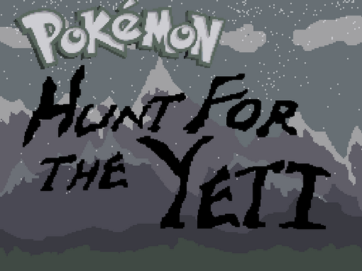 Pokemon Hunt For the Yeti! RMXP Hacks
