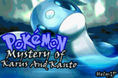 Pokemon Mystery Of Karus And Kanto GBA ROM Hacks