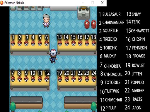 Pokemon Nebula RMXP Hacks