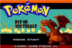 Pokemon: Pit of 100 Trials GBA ROM Hacks