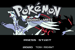 Pokemon Radiant White GBA ROM Hacks