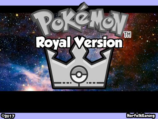 Pokemon Royal Version RMXP Hacks