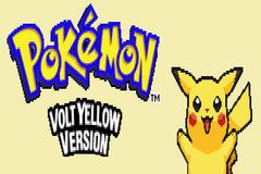 Pokemon Volt Yellow: Special Pikachu Edition GBA ROM Hacks