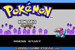Pokemon Kanlara Classic GBA ROM Hacks