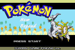 Pokemon New Beyond GBA ROM Hacks
